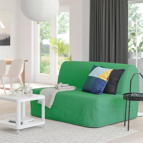 LYCKSELE HÅVET ЛЮККСЕЛЕ ХОВЕТ 2-місний диван-ліжко, ВАНСБРУ яскраво-зелений