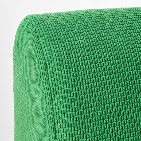 LYCKSELE LÖVÅS ЛЮККСЕЛЕ ЛЕВОС 2-місний диван-ліжко, ВАНСБРУ яскраво-зелений