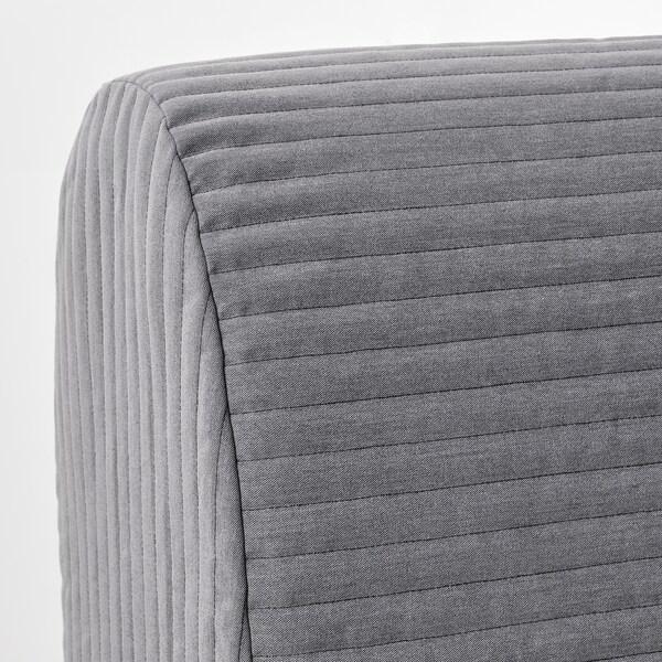 LYCKSELE MURBO ЛЮККСЕЛЕ МУРБУ 2-місний диван-ліжко, КНІСА світло-сірий