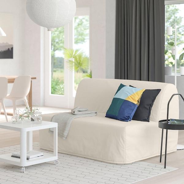 LYCKSELE MURBO ЛЮККСЕЛЕ МУРБУ 2-місний диван-ліжко, РАНСТА натуральний