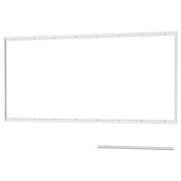LYSEKIL ЛІСЕКІЛ Рейка для настінної панелі, алюміній, 120 см