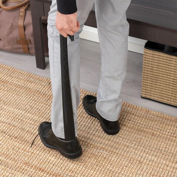 ОМСОРГ ріжок для взуття чорний 60 см 5 см 5 см