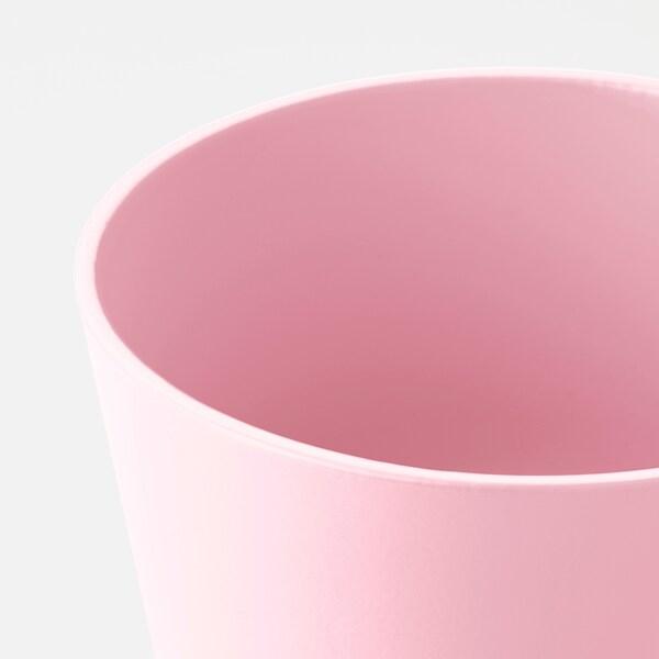 PAPAJA ПАПАЙЯ Кашпо, світло-рожевий, 9 см