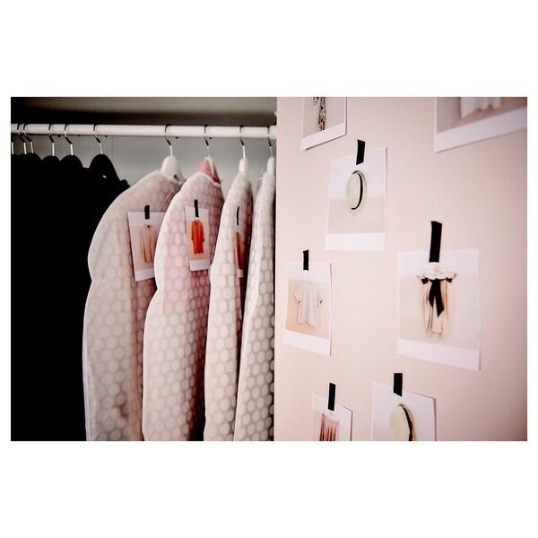 ПЛУРІНГ чохол для одягу, 3 шт білий прозорий