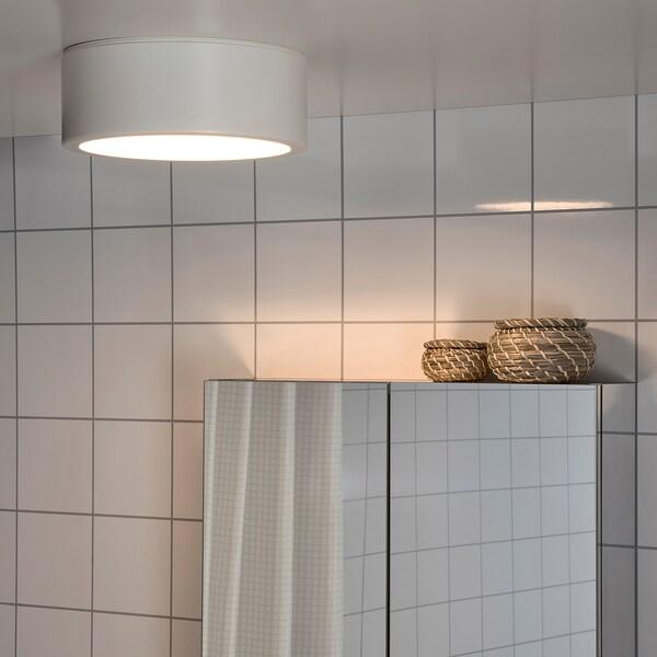RAKSTA РАКСТА LED стельовий світильник, білий, 28 см
