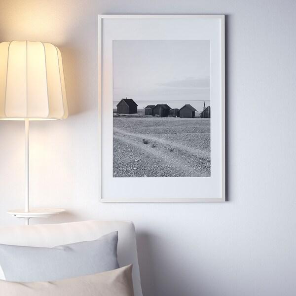 RIBBA РІББА Рамка, білий, 61x91 см