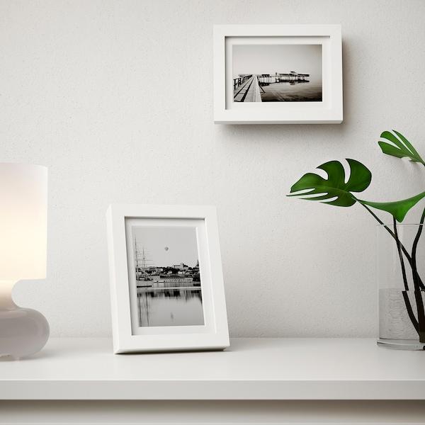 RIBBA РІББА Рамка, білий, 13x18 см
