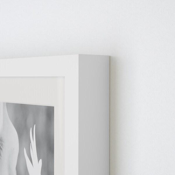 RIBBA РІББА Рамка, білий, 10x15 см