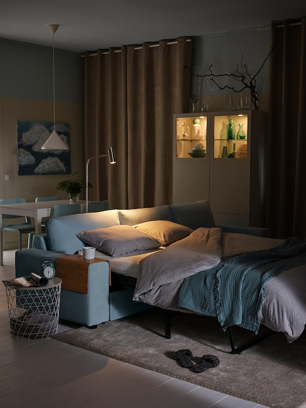 RÖDEBY РЕДЕБЮ Накладка на підлокітник дивана, бамбук