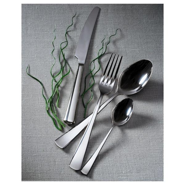 СЕДЛІГ набір столових приборів 24 предмети нержавіюча сталь