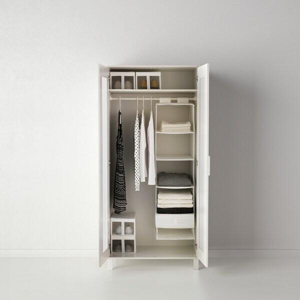 СКУББ коробка з відділеннями  білий 44 см 34 см 11 см