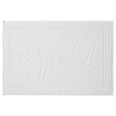 SKULINGEN СКУЛІНГЕН Килимок для ванної кімнати, білий, 50x70 см