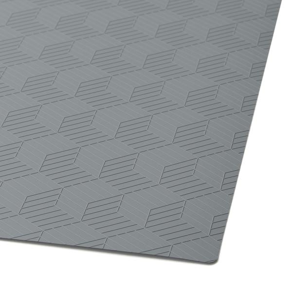 СЛІРА серветка під столові прибори сірий 36 см 29 см