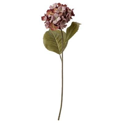 SMYCKA СМЮККА Штучна квітка, для приміщення/вулиці/Гортензія рожевий, 60 см