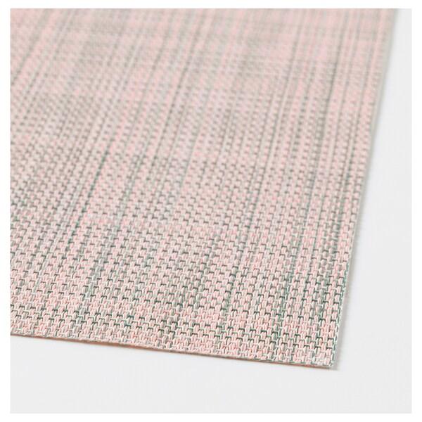 СНОББІГ серветка під столові прибори світло-рожевий 45 см 33 см