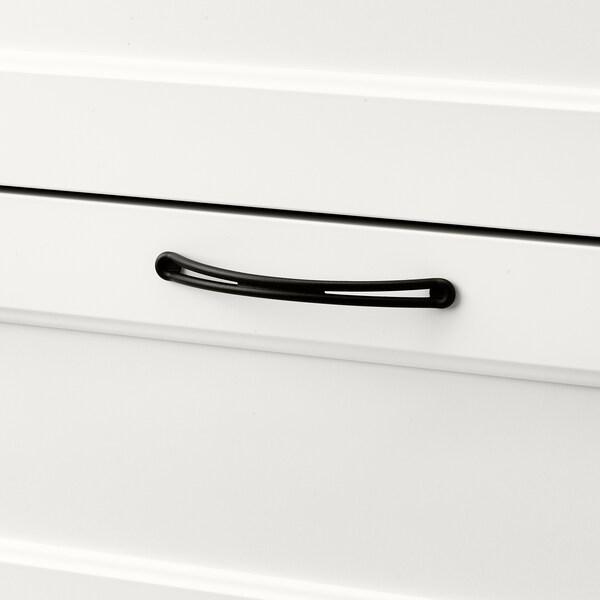 SONGESAND СОНГЕСАНД Комод із 6 шухлядами, білий, 161x81 см