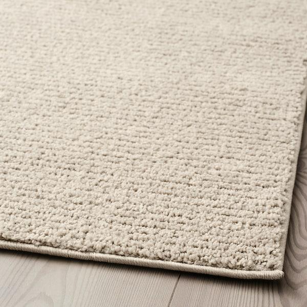 СПОРУП килим, короткий ворс світло-бежевий 240 см 170 см 11 мм 4.08 м² 2200 г/м² 800 г/м² 9 мм