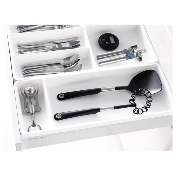 STÖDJA СТЕДЙА Лоток для кухонного приладдя, білий, 20x50 см