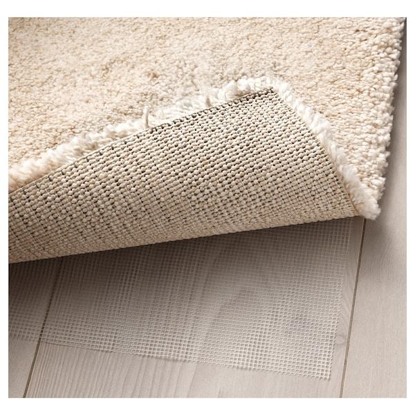 STOENSE СТОЕНСЕ Килим, короткий ворс, кремово-білий, 80x150 см