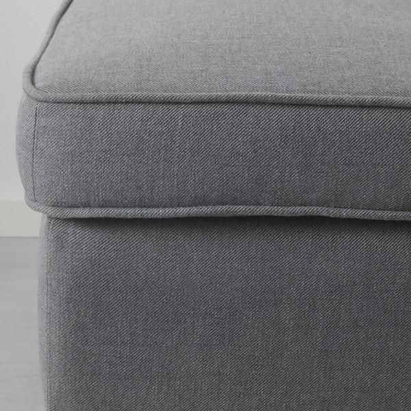 СТРАНДМОН підставка для ніг НОРДВАЛЛА темно-сірий 60 см 40 см 44 см
