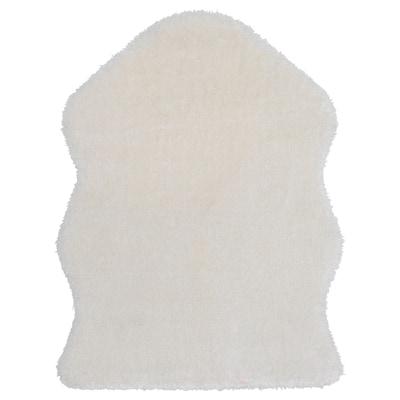 ТОФТЛУНД килим білий 85 см 55 см 0.39 м² 1370 г/м² 21 мм