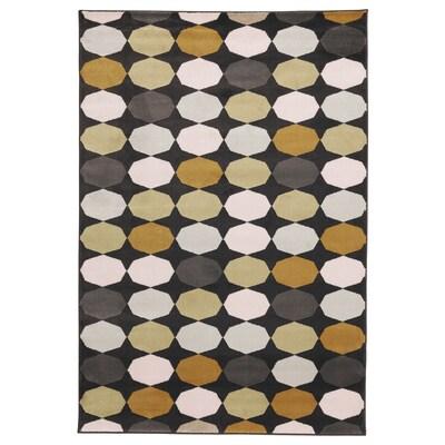 ТОРРІЛЬД килим, короткий ворс різнобарвний 195 см 133 см 11 мм 2.59 м² 2050 г/м² 620 г/м² 8 мм