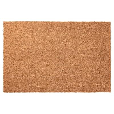 TRAMPA ТРАМПА Килимок під двері, натуральний, 60x90 см