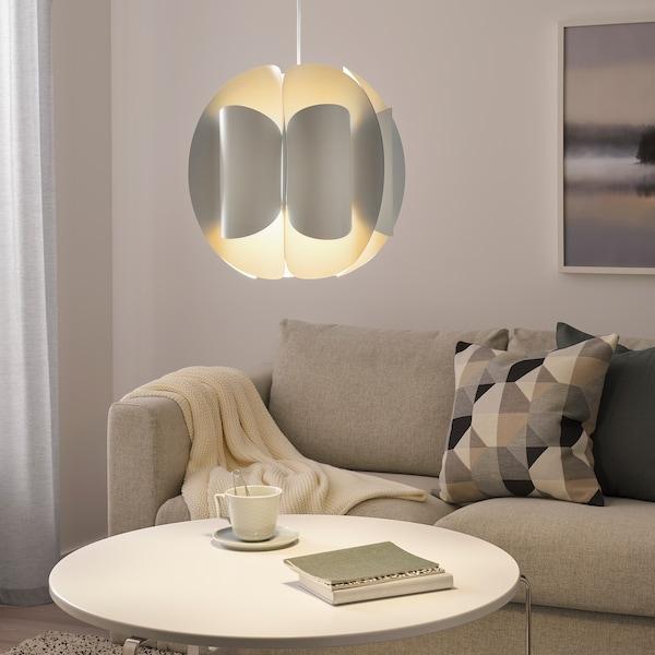 TRUBBNATE ТРУББНАТЕ Абажур підвісного світильника, білий, 38 см