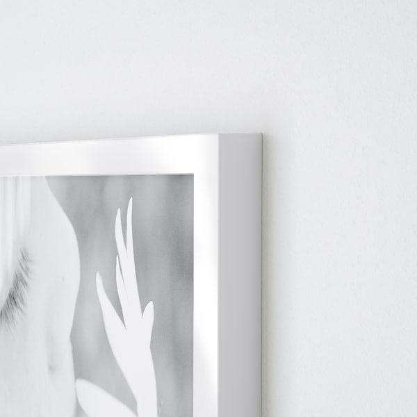 VÄXBO ВЕКСБУ Рамка для колажу на 8 фотографій, білий, 13x18 см