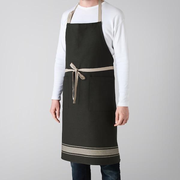 ВАРДАГЕН фартух чорний 92 см