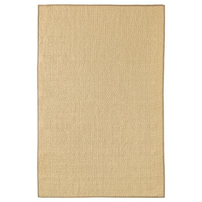ВІСТОФТ килим, пласке плетіння натуральний 300 см 200 см 8 мм 6.00 м² 2840 г/м²