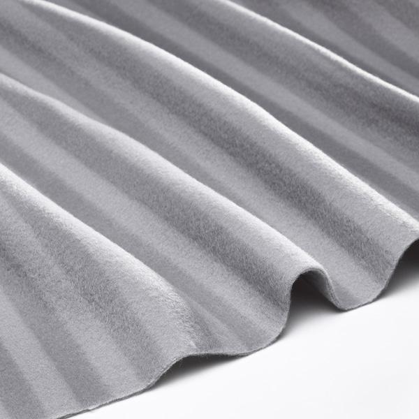 ВІТМОССА плед сірий 160 см 120 см