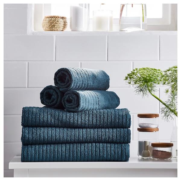 ВОГШЕН Рушник для рук, темно-синій, 50x100 см