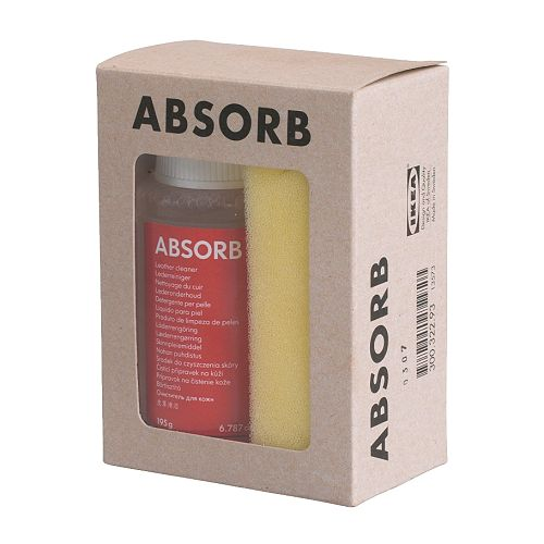 ABSORB Leathercleaner IKEA The leather cleaner cleans, removes stains and re-greases the leather so it will last longer.