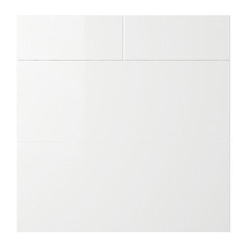 Ikea Abstrakt Kitchen Cabinet Door Front High Gloss Cream: ABSTRAKT Drawer Front, Set Of 4