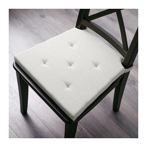 ADMETE Chair pad black IKEA – White Chair Pad