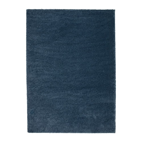 ÅDUM Rug, high pile, dark blue dark blue 5 ' 7