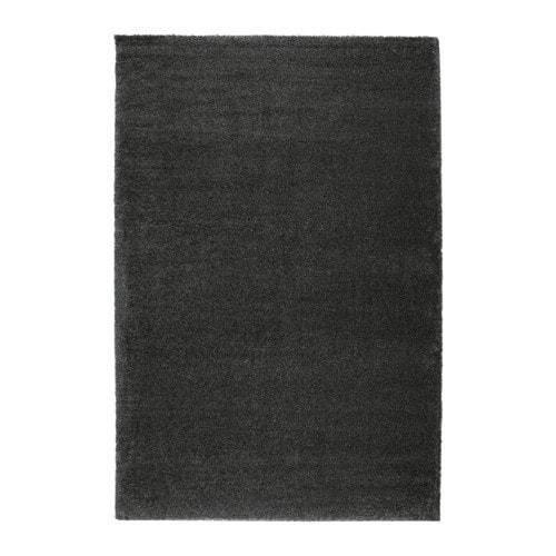 ÅDUM Rug, high pile, dark gray dark gray 6 ' 7