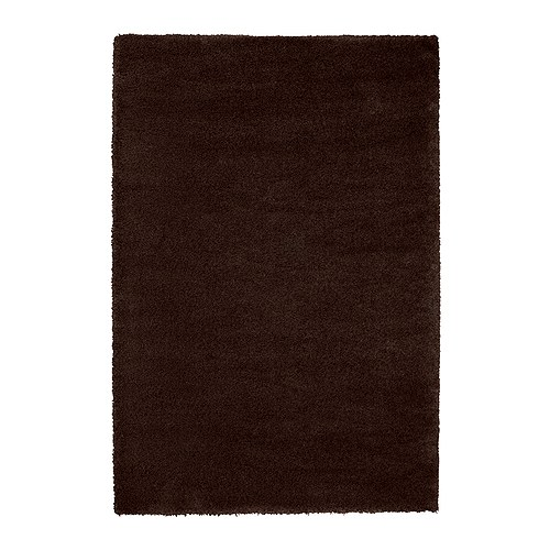 ÅDUM Rug, high pile IKEA Its dense, thick pile creates a soft surface for your feet and also dampens sound.