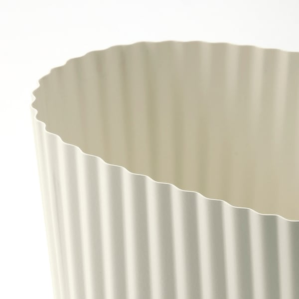 ÄPPELROS Plant pot, indoor/outdoor/off-white oval, 3 ½ ""