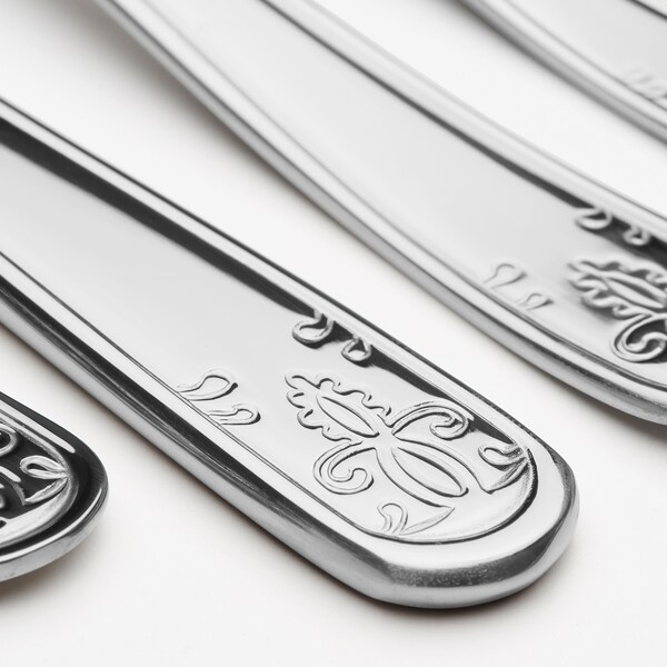 ÄTBART 20-piece flatware set stainless steel