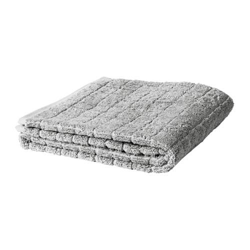 ÅFJÄRDEN Bath towel, gray