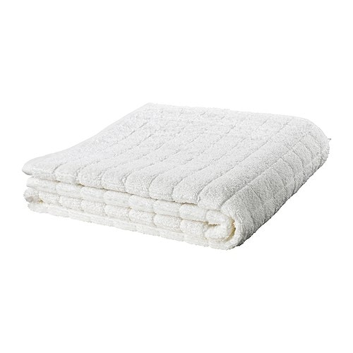 ÅFJÄRDEN Bath towel IKEA A terry towel that is extra thick and soft and highly absorbent (weight 600 g/m²).  Made of combed cotton.