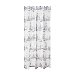 Shower Curtains.Aggersund Shower Curtain Gray