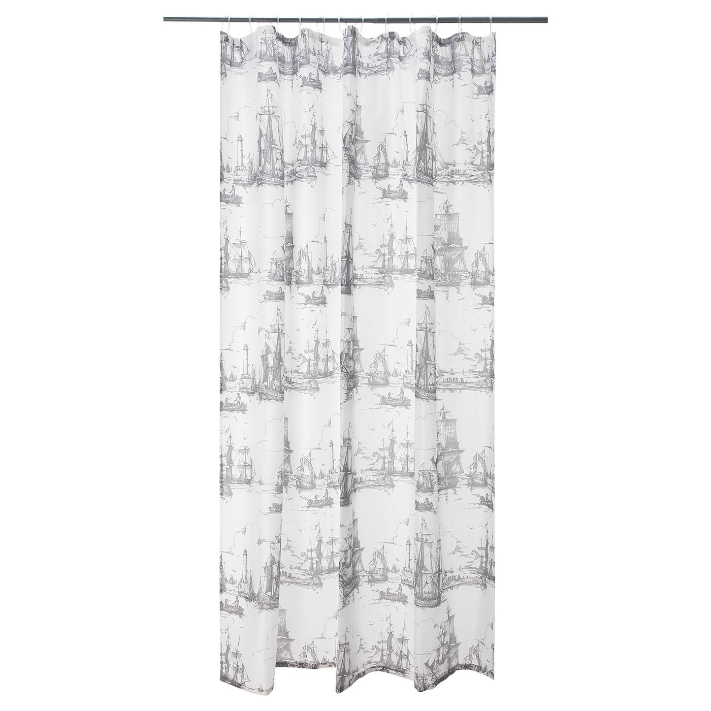 Shower Curtain Aggersund Gray