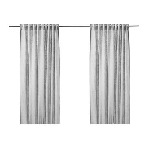 Aina curtains 1 pair ikea for Stores en lin ikea