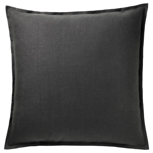 "AINA Cushion cover, dark gray, 26x26 """