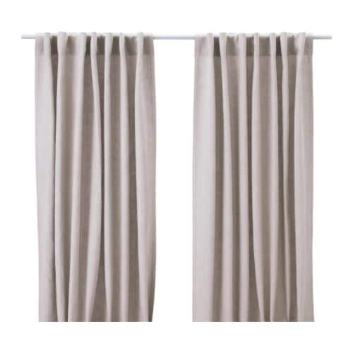 Bryn alexandra a couple sewing projects for Ikea drapes linen