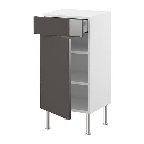 AKURUM Base cabinet w shelf/drawer/door IKEA