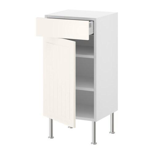ФАКТУМ Напольн шкаф с полкой/ящиком/дверью Ящики со стопором; закрываются плавно, мягко и бесшумно.